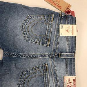 Brand New True Religion Ankle skinny jeans.